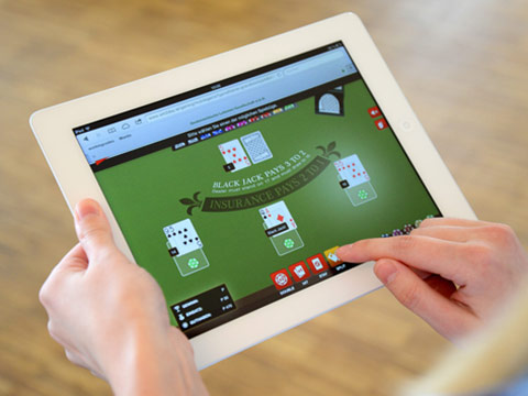 Il blackjack su tablet e smartphones