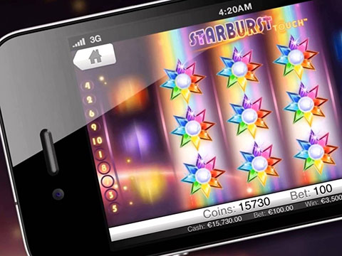 Le slot machines su tablet e smartphones
