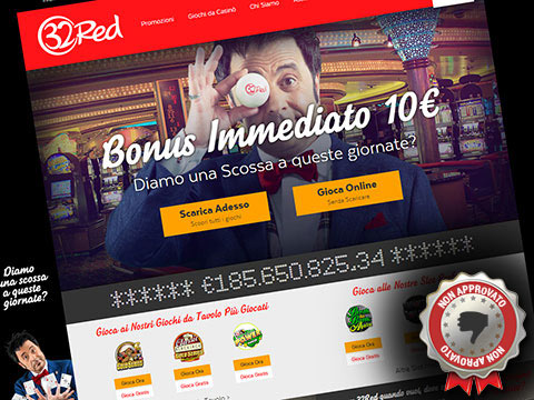 sito web del casino 32Red