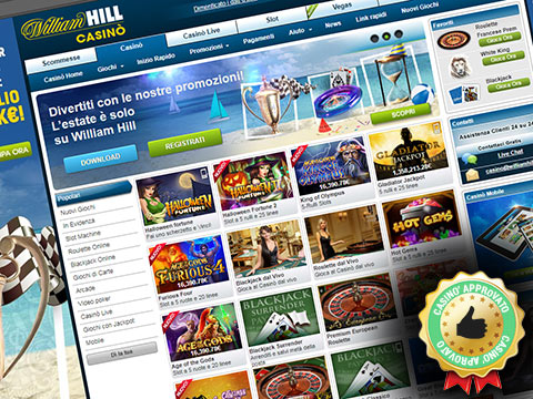 sito web del casino William Hill
