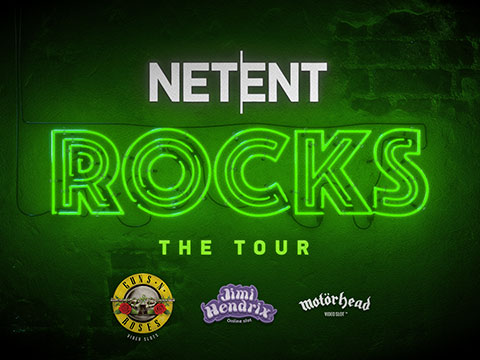 Nuove slot machines NetEnt Rocks