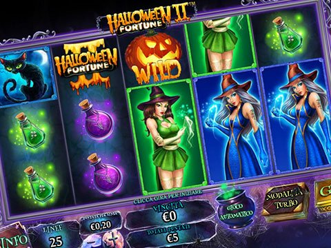 Slot Playtech Halloween Fortune II