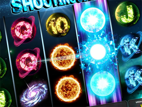 Nuova slot Shooting Stars di Novomatic