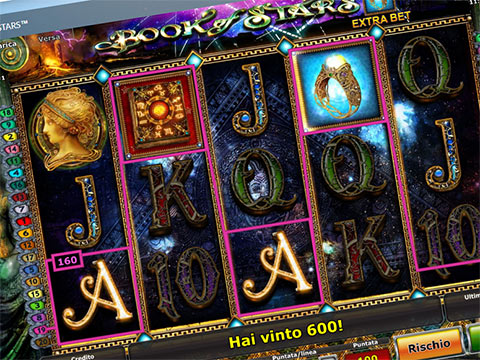 Slot Novomatic Book of Stars