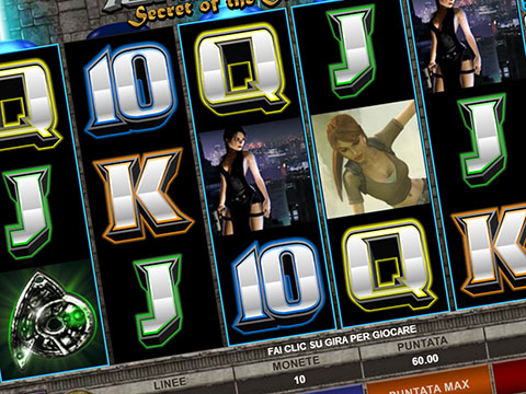 Slot machine Tomb Raider Secret of the Sword (Microgaming)